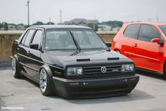 VW Jetta MK2 with VR6 swap