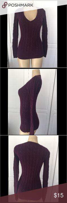 American Eagle sweater American Eagle sweater Burgundy color American Eagle Outfitters Sweaters