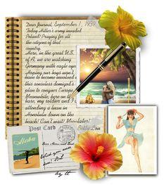 """My Beach Journal VII, The Beginning Of World War II...😯by tt"" by fowlerteetee on Polyvore featuring art"