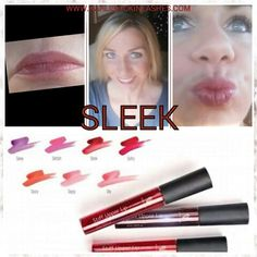Absolutely in love with our 7 new lip stains! SLEEK is my go to! WWW.KARLISKICKINLASHES.COM