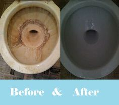 A DIY Hard Water Stain Remover Recipe for Cleaning Toilets and ...