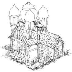Holt House Sketch