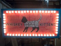 One of our customers created this awesome kitten inspired marquee using our globe lights! Patio String Lights, Globe String Lights, Marquee Letters, Evolution, Kittens, Bulb, Website, Inspired, Awesome