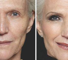 Beautiful make-up for best ager ladies Maye (Silver) - Makeup Makeup Tips For Older Women, Makeup For Moms, Beauty Makeup, Hair Makeup, Hair Beauty, Contour Makeup, Contouring, Eye Makeup, Korean Natural Makeup