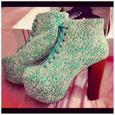 Jeffery Campbell Lace