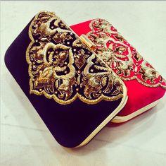 CLUTCH LOVE: Beautiful clutches from Namrata Kumar.