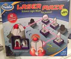 ThinkFun Laser Maze Jr - NEW - Science Logic Maze For Juniors! #ThinkFun