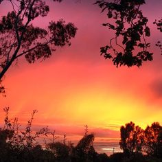 sunset - pretty!