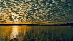 Sunset on the lake Vesijärvi (Explored Jan 2015 ) Landscape Photography, Natural Beauty, Sunrise, Beautiful Places, Clouds, River, Explore, Jan 17, Nature