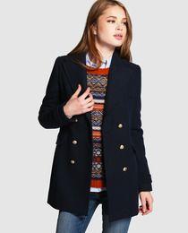 0595e3fdeb0 15 mejores imágenes de Abrigo azul marino outfit en 2017 | Moda ...