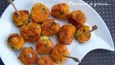 Bouchées saveur carottes, pommes de terre