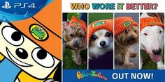 PaRappa the Rapper's influence can be seen in every dog run in every park. But the question is, who wore it best? Or can your doggo do better? #fashion #style #stylish #love #me #cute #photooftheday #nails #hair #beauty #beautiful #design #model #dress #shoes #heels #styles #outfit #purse #jewelry #shopping #glam #cheerfriends #bestfriends #cheer #friends #indianapolis #cheerleader #allstarcheer #cheercomp  #sale #shop #onlineshopping #dance #cheers #cheerislife #beautyproducts #hairgoals…