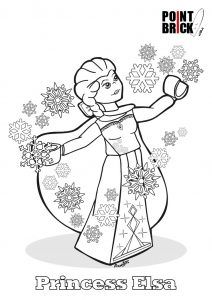 Lego Elsa Coloring Pages In 2020 Lego Coloring Pages Elsa Coloring Pages Princess Coloring Pages