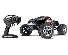 Traxxas Revo 3.3 TQi 2.4GHz 1:10 4WD RTR Nitro RC Monster Truck - $589.95