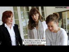 HOYMODAtv - #FrancinaDíaz, madrina de  - Entrecosturas ATELIERS -  2014   5ª edición. #HoyModaTv #AteliersBcn #EntrecosturasAteliers