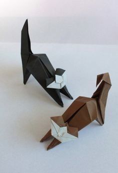 cat by origamist redpaper, via Flickr