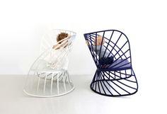 SOL le fauteuil à bascule design de Constance Guisset  - Molteni