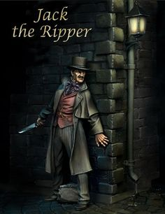 Jack the Ripper is the best-known name given to an unidentified serial killer who was active in the largely impoverished areas in and around the Whitechapel district of London in 1888. The name originated in a letter, written by someone claiming to be the murderer, that was disseminated in the media.  Other nicknames used for the killer at the time were The Whitechapel Murderer and Leather Apron..