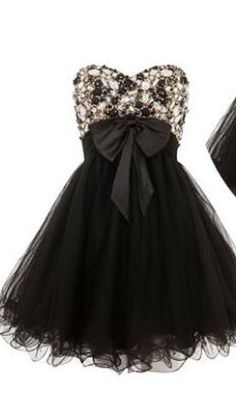 Homecoming Dress,Tulle Homecoming D Straps Prom Dresses, Black Prom Dresses, Prom Party Dresses, Party Gowns, Homecoming Dresses, Bow Dresses, Bridesmaid Dresses, Formal Dresses, Wedding Dresses