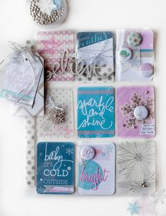 Baby Its Cold Outside. Christmas Pocket Letters by Lorrie Nunemaker