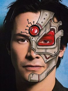 Discover recipes, home ideas, style inspiration and other ideas to try. Alien Face Paint, Superhero Face Painting, Face Painting For Boys, Face Painting Designs, Face Paint Makeup, Makeup Art, Robot Makeup, Fashion Editorial Makeup, Boy Face