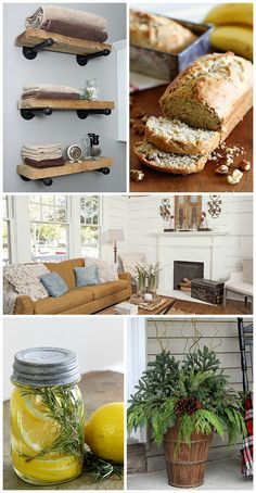 My favorite DIY projects, tips and recipes of the year. From DIY Industrial Pipe Shelves to the best Banana Nut Bread to Gardening Projects for this spring.