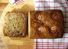 Strawberry and Banana Loaf - Bake Good Strawberry Banana, Strawberry Recipes, Banana Recipes, Some Recipe, Baked Goods, Banana Bread, Allotment, Baking, Sweet