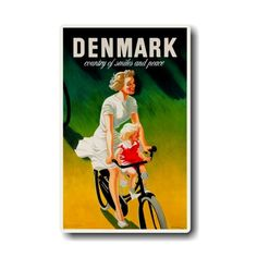 Denmark country of smiles and peace, magnet Denmark Country, Peace, Smile, Sobriety, World
