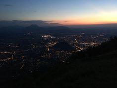 Blick vom Gaisberg auf die Stadt Salzburg Salzburg, Airplane View, Environment, City