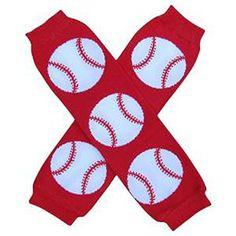 Toddler Baseball Leg warmers