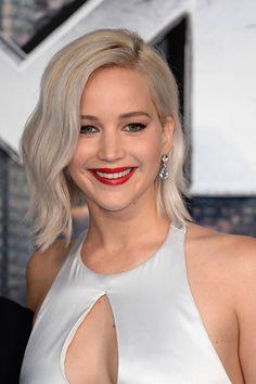 Jennifer Lawrence at the 2016 London premiere of 'X-Men: Apocalypse'.