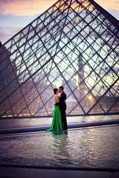 Love in Paris by Natalia Semenec, via 500px