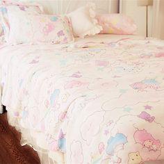kawaii❤tea❤time - Little Twin Star's Bed Set