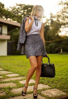 Get the look: como usar blusa gravatinha