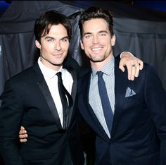 Ian Somerhalder and Matt Bomer in one picture?! Just died..