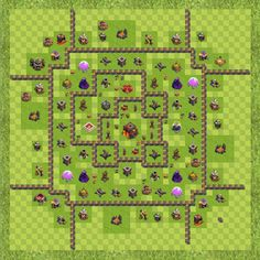 War Base Town Hall Level 10 By roguemanx (roguemanx TH 10 Layout)