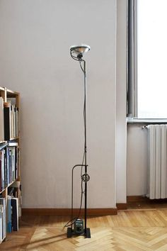 FLOS vintage Toio vloerlamp   res. lamp. Castiglioni Vintage