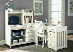 home office home office furniture desk office furniture small office desk with white color White Desk With Hutch, White Corner Desk, Small Corner Desk, Corner Desk With Hutch, White Desk Office, White Desks, Desk With Drawers, Kids Corner, Small Office