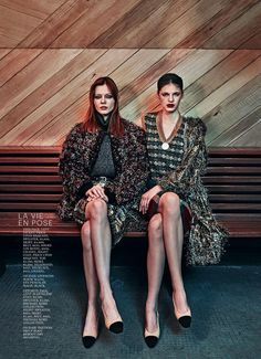 """""""On the Town"""" by Boe Marion for Marie Claire US July 2015"""