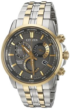 ee775263fc1 Citizen Men s BL8144-54H Eco-Drive Analog Quartz Two-Tone Stainless Steel  Watch   You can find more details by visiting the image link.