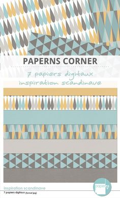 kit papiers imprimer th me motifs scandinaves graphiques noir et blanc boutique id e. Black Bedroom Furniture Sets. Home Design Ideas