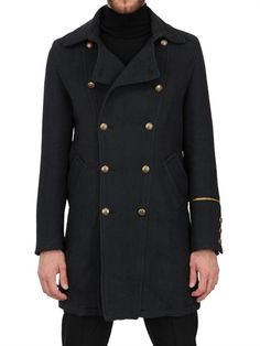 CORTO MALTESE - WOOL CLOTH PARCOUR CABAN COAT