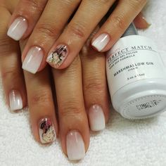 Marshmellow Gin #Lechat #Perfect #Match #gel #polish #ombre
