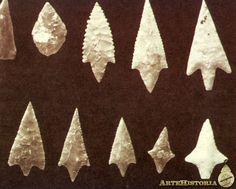 Puntas del Epipaleolítico-Mesolítico del Próximo Oriente. 13000-10000 B.P.