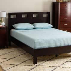 Shop for Rectangular Cutout California King-size Platform Bed. Get free shipping at Overstock.com - Your Online Furniture Outlet Store! Get 5% in rewards with Club O!