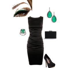 I absolutely love black dresses