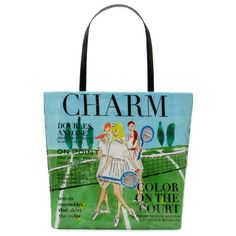 love my Charm bag. may need another one....i'll treat myself after i commit to FINALLY taking tennis lessons!
