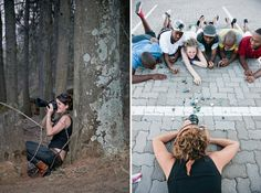 Photographing from a different angle – Jax in action