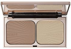 Charlotte Tilbury Filmstar Bronze and Glow bronzer and highlighter Charlotte Tilbury Makeup, Charlotte Tilbury Highlighter, Palette Contouring, Contouring And Highlighting, Contour Eyes, Contouring Makeup, Sephora, Bronzer, Makeup Products