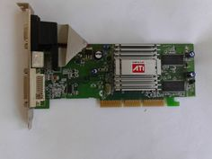 Scheda video ATI Radeon 9250 agp 128 mb,s-video out,vga ,dvi         #scat6